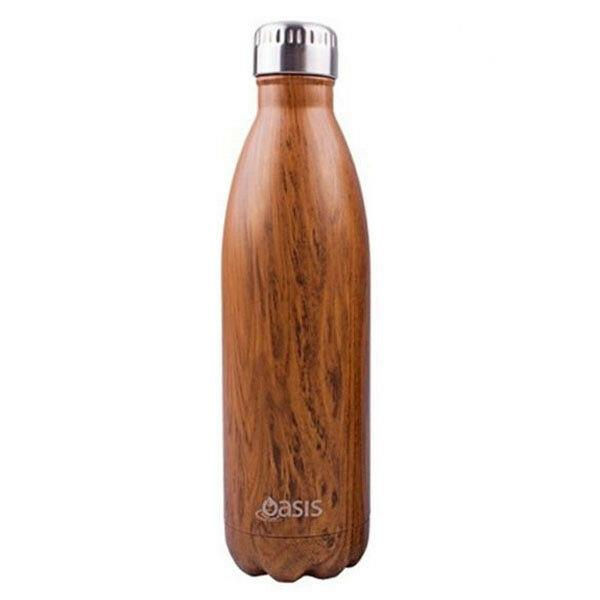 Donaldson Stainless Steel Insulated Drink Bottle 500ml Teak