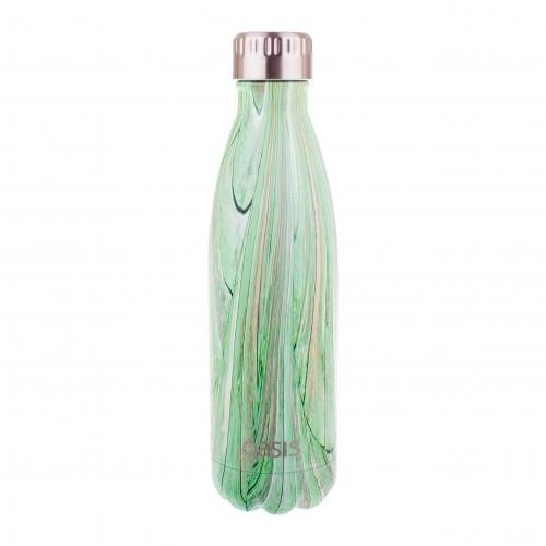 Oasis Stainless Steel Insulated Drink Bottle 500ml Daintree