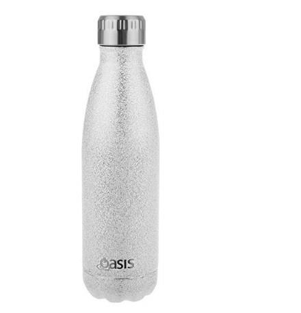 Oasis Stainless Steel Insulated Drink Bottle 350ml Silver