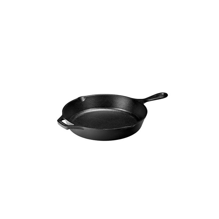 Lodge 26cm Cast Iron Skillet with Helper Handle