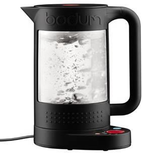 BODUM Bistro Double Wall 1.1l Kettle Black with Temperature control