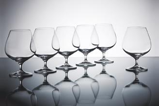 Krosno Harmony Cognac 550ML Set of 6