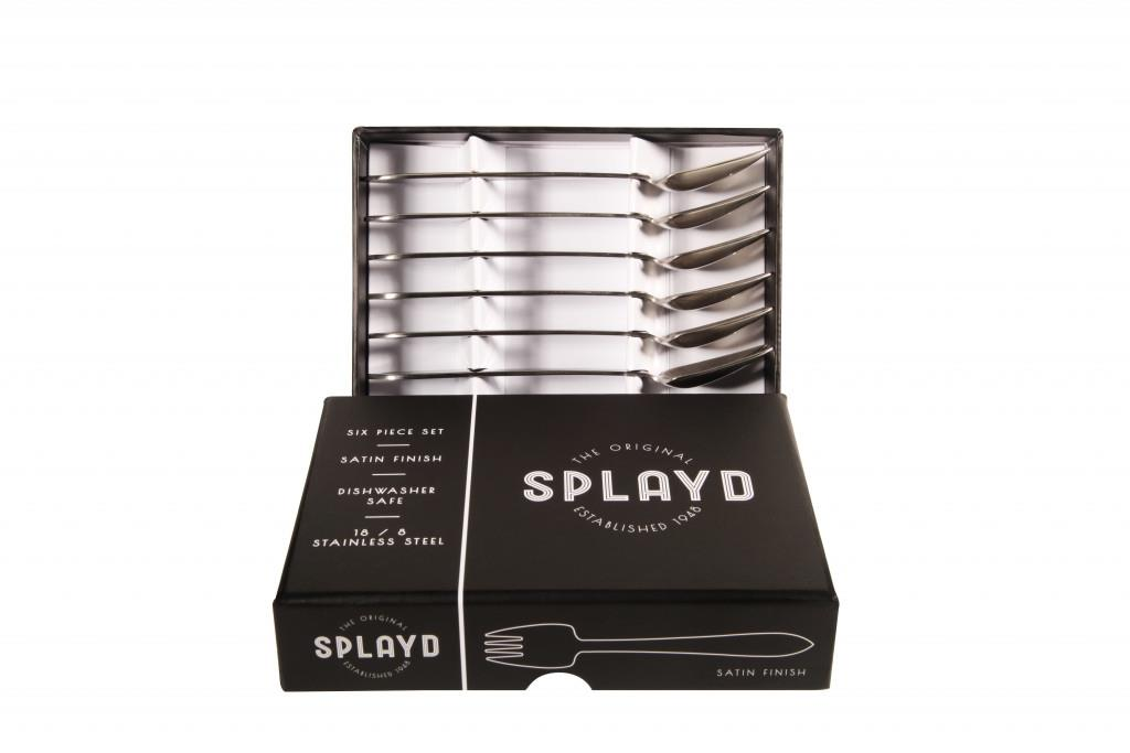 Splayd Black Label Stainless Steel Satin Mini 6pc Set