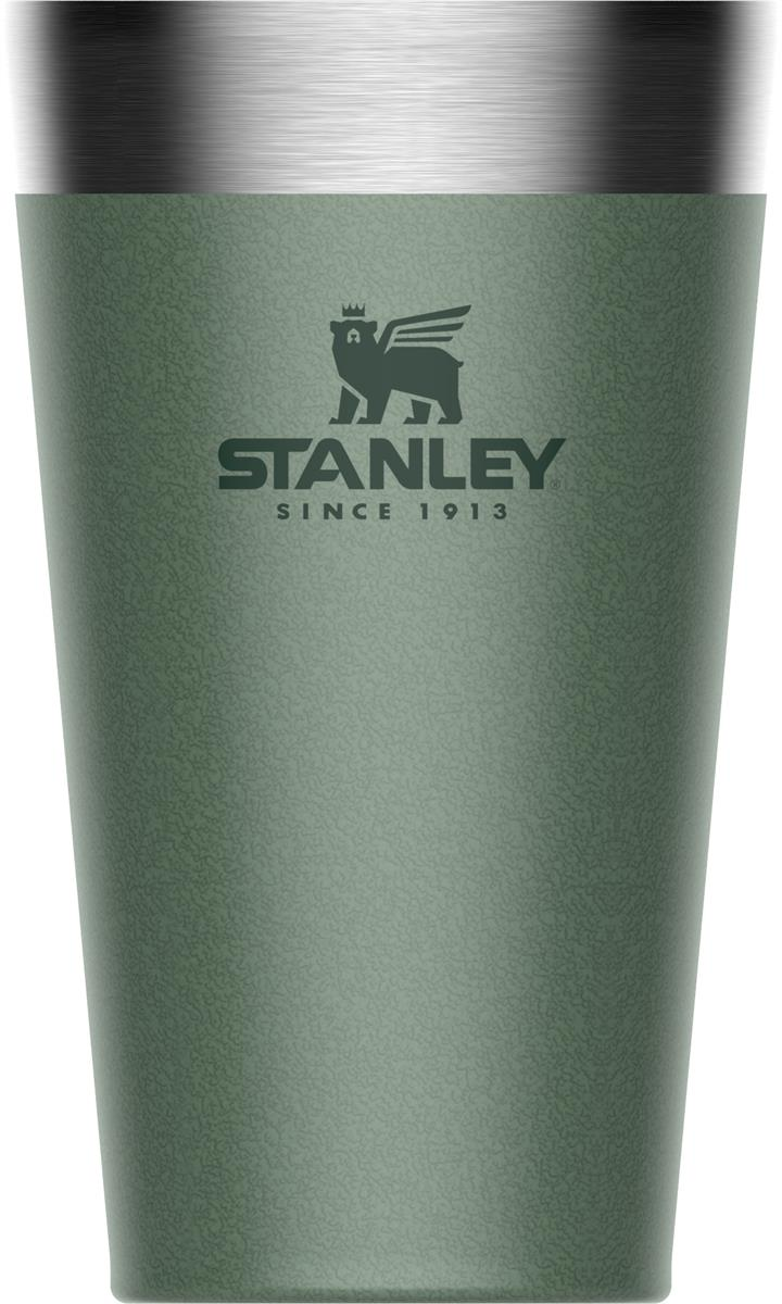 Stanley Stacking Vacuum Pint Hammertone Green 16 Oz/ 0.47l