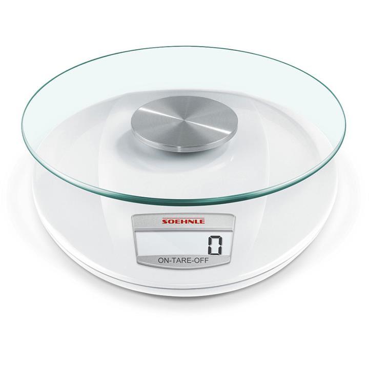 Soehnle Roma White Digital Kitchen Scale 5kg